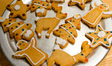 Christmas Gingerbread Biscuits / Gingerbread Men Home and Garden