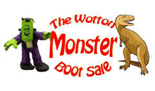 Gloucestershire Shopping Car Boots (Regular) - The Wotton MONSTER Car Boot Sale