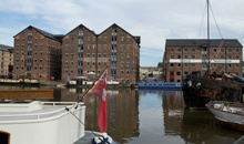 Gloucestershire Information Family & Local History - Gloucester Docks and the Sharpness Canal