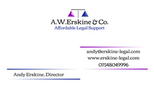 Gloucestershire Services Accountants / Book Keepers - A.W.Erskine & Co.