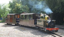 Gloucestershire Places to Visit Family Attractions - Perrygrove Railway
