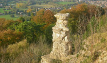 Gloucestershire Places to Visit Outdoor - Leckhampton Hill and The Devil's Chimney