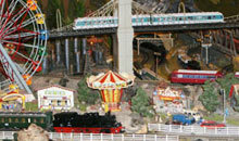 Gloucestershire Shopping Arts & Crafts - Bourton Model Railway Exhibition and Toyshop