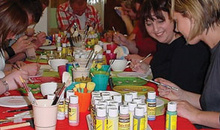 Gloucestershire Wedding & Parties Party - Art & Crafts - The Paint Pot
