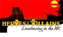 Gloucestershire Leisure Dance Classes - Heroes and Villains