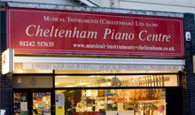 Gloucestershire Shopping Music Shops - Musical Instruments & Cheltenham Piano Centre