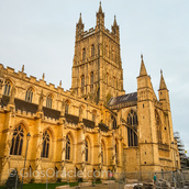 In December 1085, whilst holding his Christmas court at Gloucester Cathedral, William the Conqueror ordered that 'a great survey of England's land and resources be made.' The King then sent his men all over England to discover 'how many hundreds of hides were in each county, what land the king himself owned, and what stock upon the land and what dues he ought to have per year from each county.' This survey is now known as the Domesday Book.