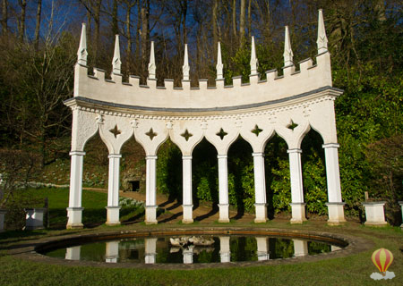 The Exedra at Painswick Rococco Gardens