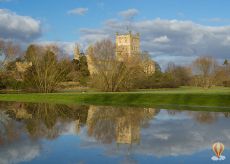 Tewkesbury Abbey saved from destruction in 1539